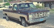 A request to see the beater Chevy truck I drive! Why? I don't Know!!